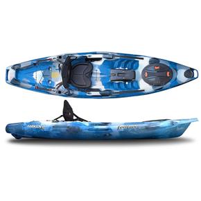 Moken 10 Lite Angler 1 Person Kayak 3.15m - Navy Camo