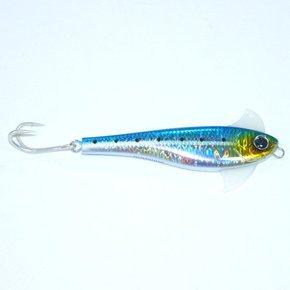"""WaxWing Blue/Sardine Lure Stick Bait - 13.8cm (5.4"""") 62g"""