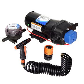 Premium Washdown Pump (Set) 12v - 19LPM - 70PSI