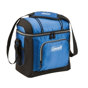 30 Can Chilly Bag / Soft Cooler with Shoulder Strap (Blue/Black)