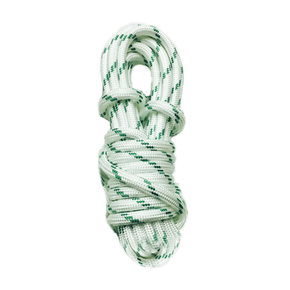 Precut 10mm x 10m Yacht Racing Braid - Green Fleck
