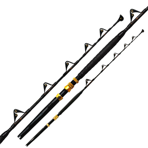 BigFoot 5'8 Fully Rollered Standup Game Rod 24-37kg