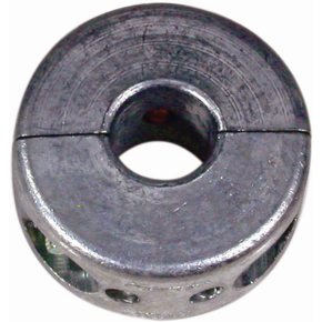 "Zinc Propellor Shaft Anode 25mm (square rounded) (1.1/2"")"