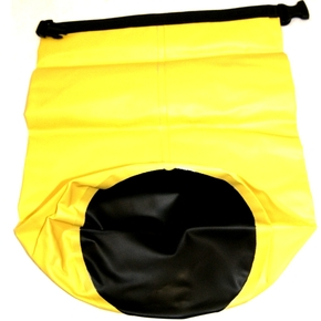 20 Litre Yellow Dry H/Duty Bag - Waterproof / Submersible / German Tritex Fabric