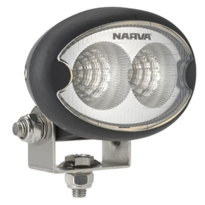 Black 550 Lumens L.E.D. Flood Light 9v-64v - Oval