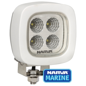 Marine 9-64 Volt / 1800 Lumens L.E.D Flood Lamp- White