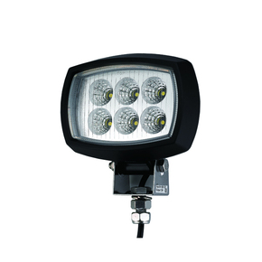 Marine 2000 Lumens 12-64v Oblong Flood Light LED - Black