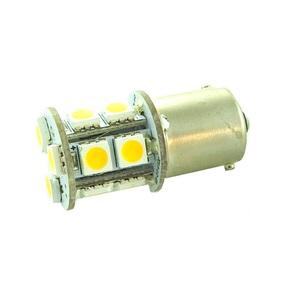 12V BA15s LED Bulb Single Contact - Warm White