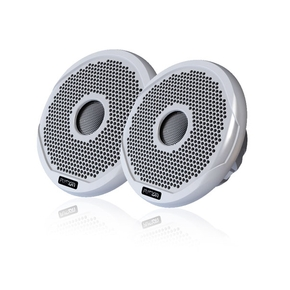 "FR4021 2-Way True Marine Waterproof Speakers (Pair) 4""/120W -Multi Grill"