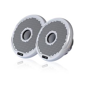 """FR4021 2-Way True Marine Waterproof Speakers (Pair) 4""""/120W -Multi Grill"""