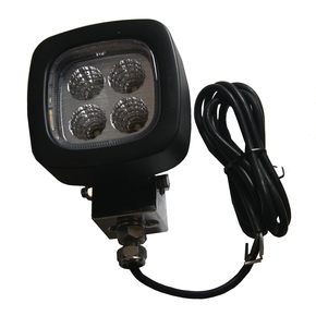Black 1200 Lumens Flood LED Light 9V-64V