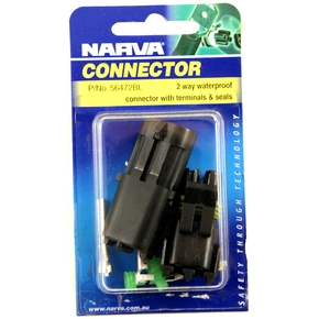 Waterproof Connector Wire 2 Pin In Line