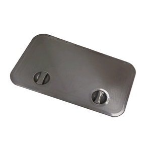 Grey ABS 2 Latch Access Hatch - 595X355mm