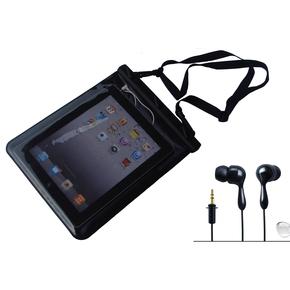Waterproof Floating Black Tablet/Ipad Dry Bag Case