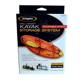 Cargoloc Wall Mount Kayak Storage System - 45kg Capacity