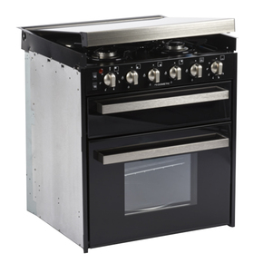 CU401 3 Burner Gas Oven with Grill (Seperate)  plus 1 Burner 230v