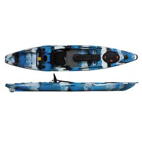 Moken 12.5 Angler 1 Person Kayak 3.90m - Navy Camo