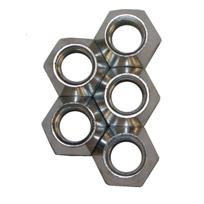 """Trailer Wheel Nut Set -13/16"""" Head - 5-pk"""