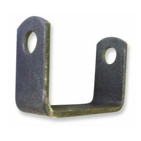 90mm Side Trailer Roller Bracket - Non Galvanised