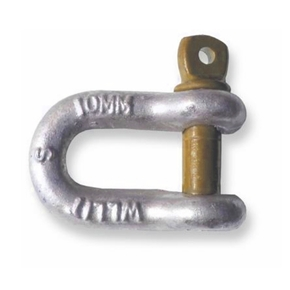 10mm Hi-Tensile Trailer D Shackle - 1000kg