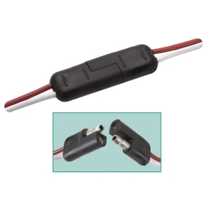 Connector Wire 2 Pin Set - Weatherproof