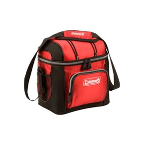 9 Can Chilly Bag / Soft Cooler (Red/Black)