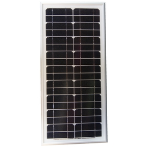 20 Watt Rigid Monocrystalline Solar Panel