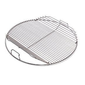 7436 Charcoal Barbecue BBQ Hinged Cooking Grill - 57cm Kettle Models