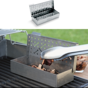 7576 Universal Stainless Steel Barbecue BBQ Smoker Box