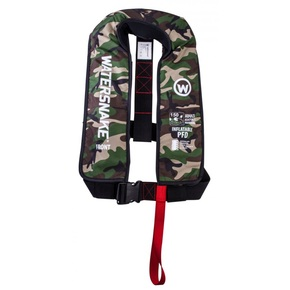 Manual 150n CO2 Adult Inflatable Lifejacket- Camo
