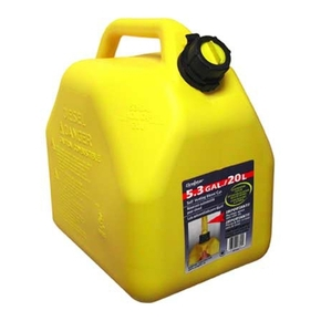 Low Profile Diesel Fuel Can  - Yellow
