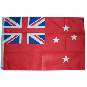 "Red New Zealand NZ Ensign Flag 120 x 60cm (47""x24"") - Heavy Duty"