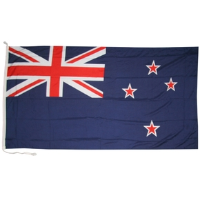 "Blue NZ Flag 120x60cm (47""x24"") -Heavy Duty"