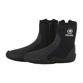 5mm Double Insulated & Zippered Dive or Wet Boot / mens UK 8 (MED)