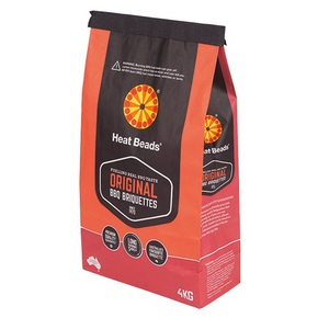 Charcoal Barbeque Fuel BBQ Briquettes - 4kg bag