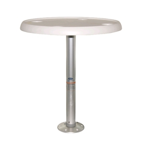 Recessed Table Pedestal Set - Removable- with Table Top