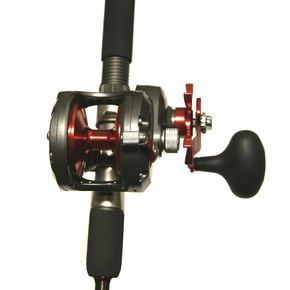 "Cortez 10 Reel with Cortez 5'0"" 24-37kg Jig Rod with Braid"