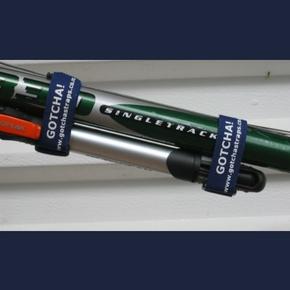 Velcro Straps 2.5cm x 20cm Blue (2-Pk)