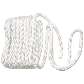 Braided Floating Bow / Dock Line 12mm x 8m - White