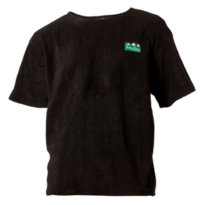 Classic Workmans Tee Fleece T-Shirt - Black / Mens Medium