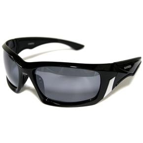 Sunsport Polarised Sunglasses - Black with Smoke Lens