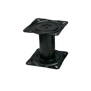 Black Seat Pedestal 177mm