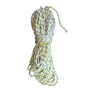 Precut 10mm x 10m Yacht Racing Braid - Blue Fleck