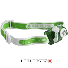 SEO 3 Hi-Power LED Headlight (Head Lamp) - Green
