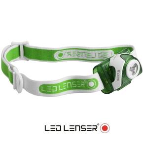 SEO 3 Hi-Power LED Head Light (Head Lamp) - Green