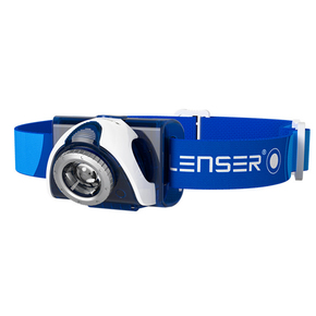 SEO 7R Rechargable Hi-Power LED Head Light (Head Lamp) - Blue