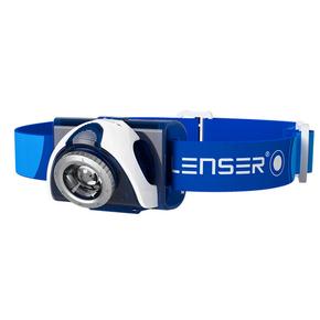 SEO 7R Rechargable Hi-Power LED Head Light (Head Lamp) - Blue