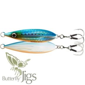 Inchiku Flat-Fall Butterfly Jig Lure - Blue Sardine 130g