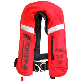 Inflatable Lifejacket Child/Sml Adult (25-60kgs) Automatic W/Harness 150N