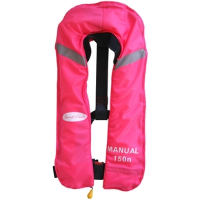 Inflatable Lifejacket Adult Manual 150N (w/Harness)